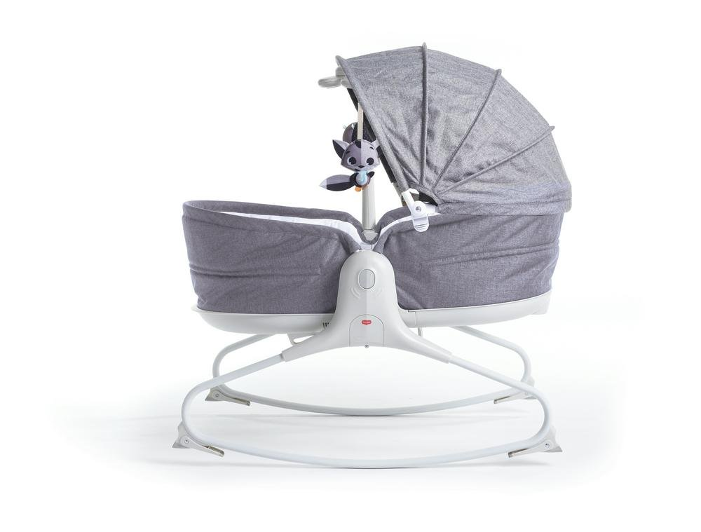 Tiny Love 3-In-1 Cozy Rocker Napper - Grey 73 x 72 x 48cm Grey