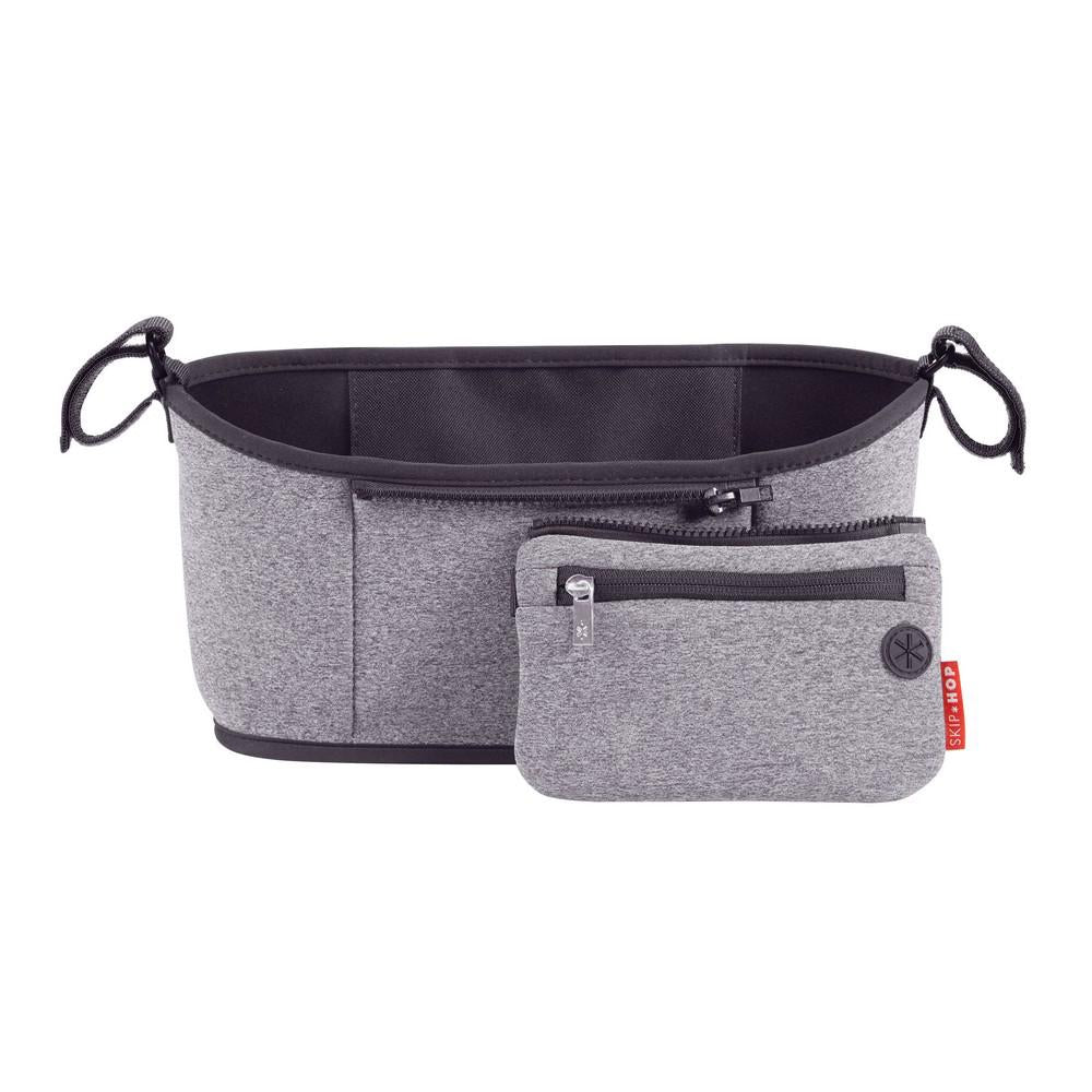 Skip Hop Grab & Go Stroller Organizer Heather Grey