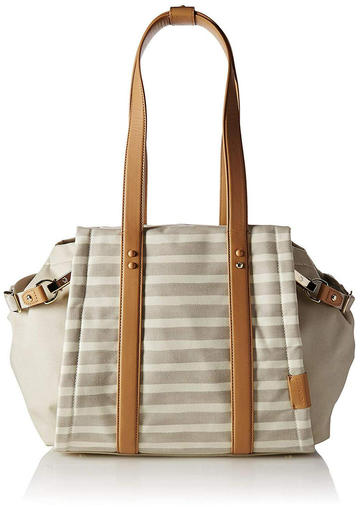 Skip Hop Highline Tote - Oyster Stripe Default Title