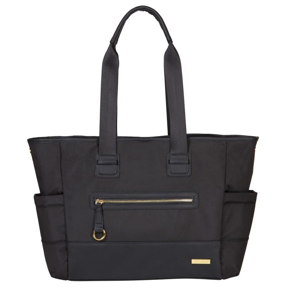 Skip Hop Chelsea 2-in-1 Downtown Chic Diaper Tote Black