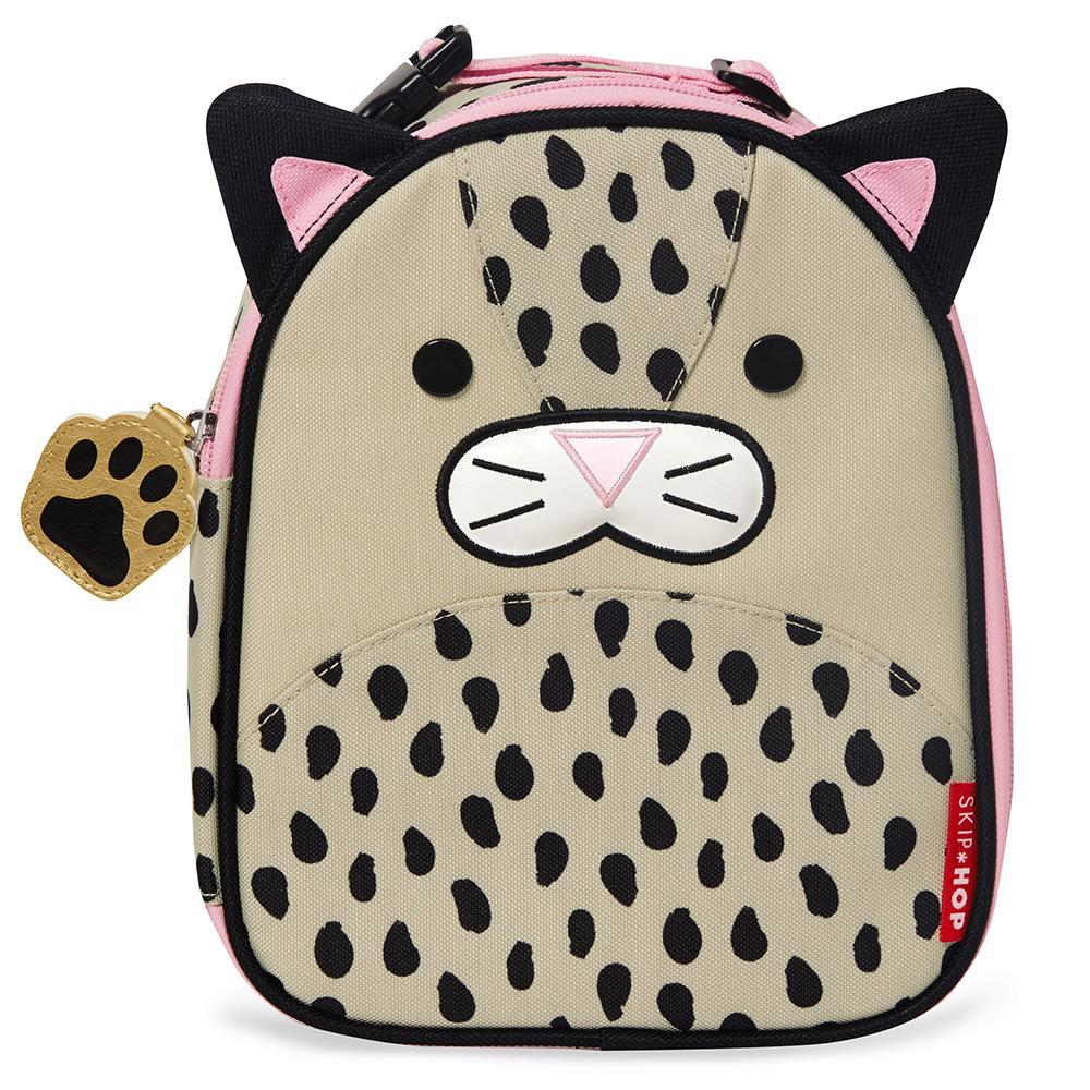 Skip Hop Zoo Lunchies Insulated Lunch Bag - Leopard 23 x 8 x 19cm Leopard