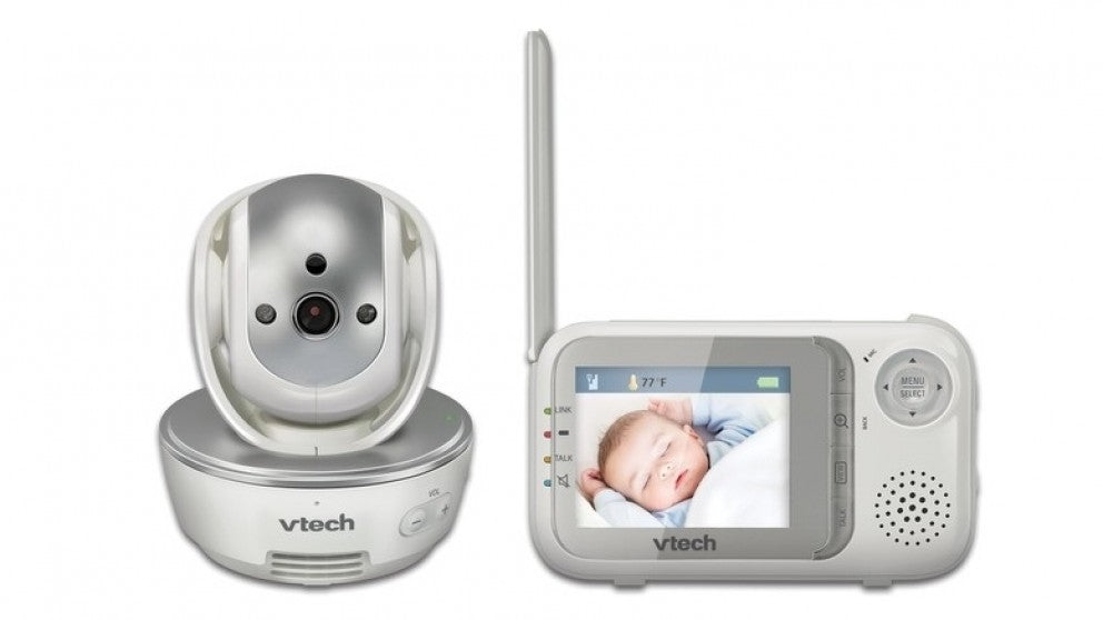 Safe & Sound Full Colour Pan & Tilt Video and Audio Baby Monitor - BM3500