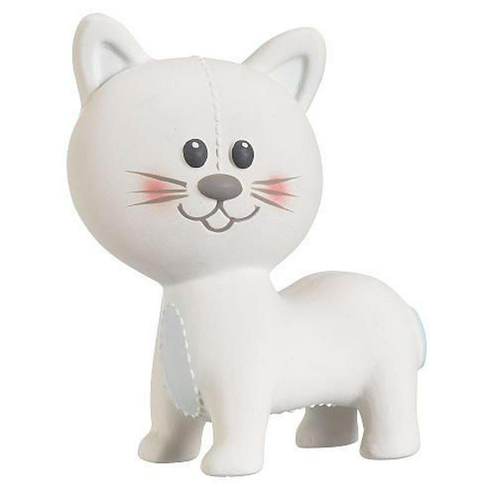 Vulli Teething Toy (Lazare the Cat) 6.6 x 4.8 x 3.2 inches Lazare the Cat