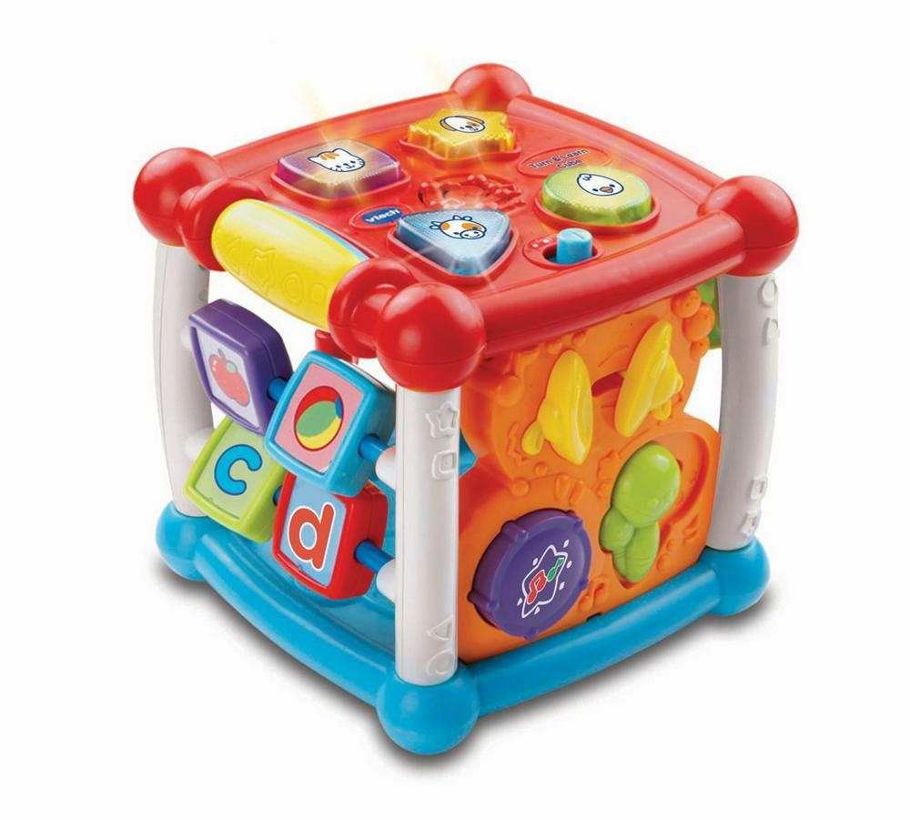 VTech Turn & Learn Interactive Cube Red/White/Blue