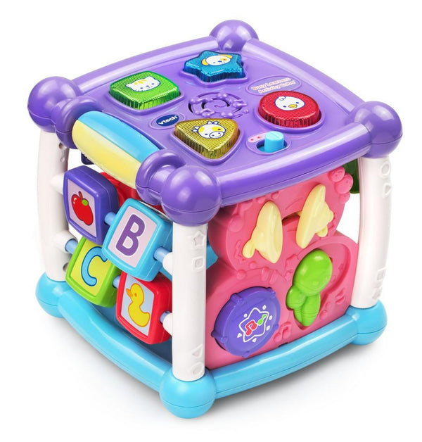 VTech Turn & Learn Cube (Pink) Pink