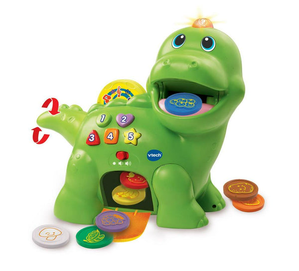 VTech Interactive Feed Me Dino Green