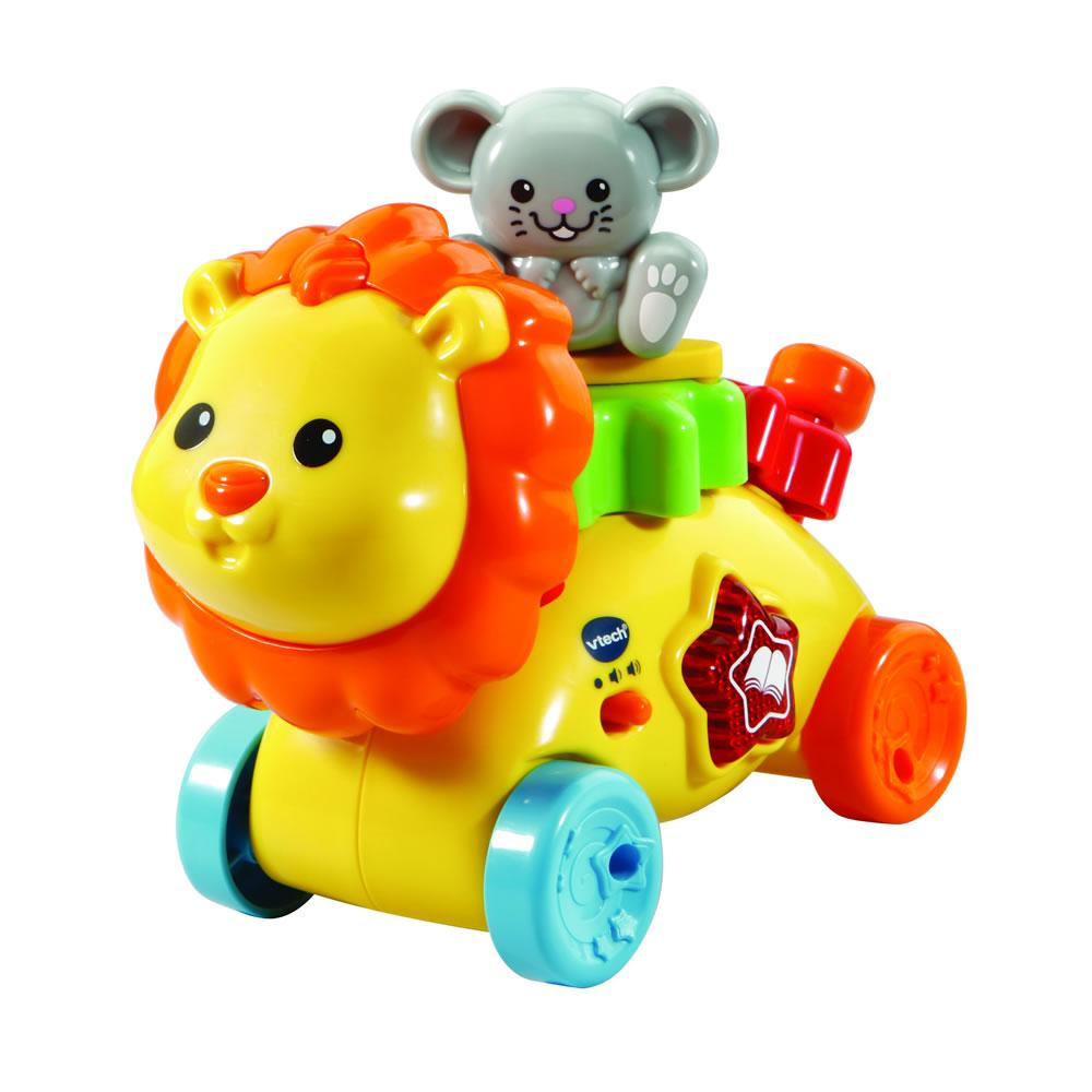 VTech Gear Up & Go Lion Yellow