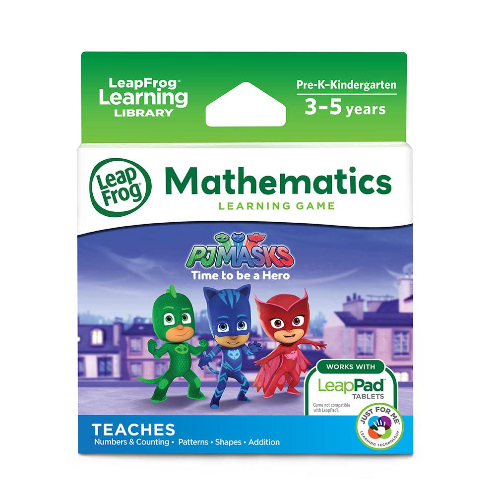 LeapFrog PJ Masks Time To Be A Hero Learning Game Cartridge: Mathematics White