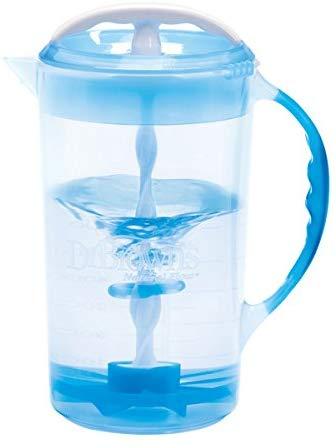 Dr. Brown's Baby Formula Mixing Pitcher 240mL Blue