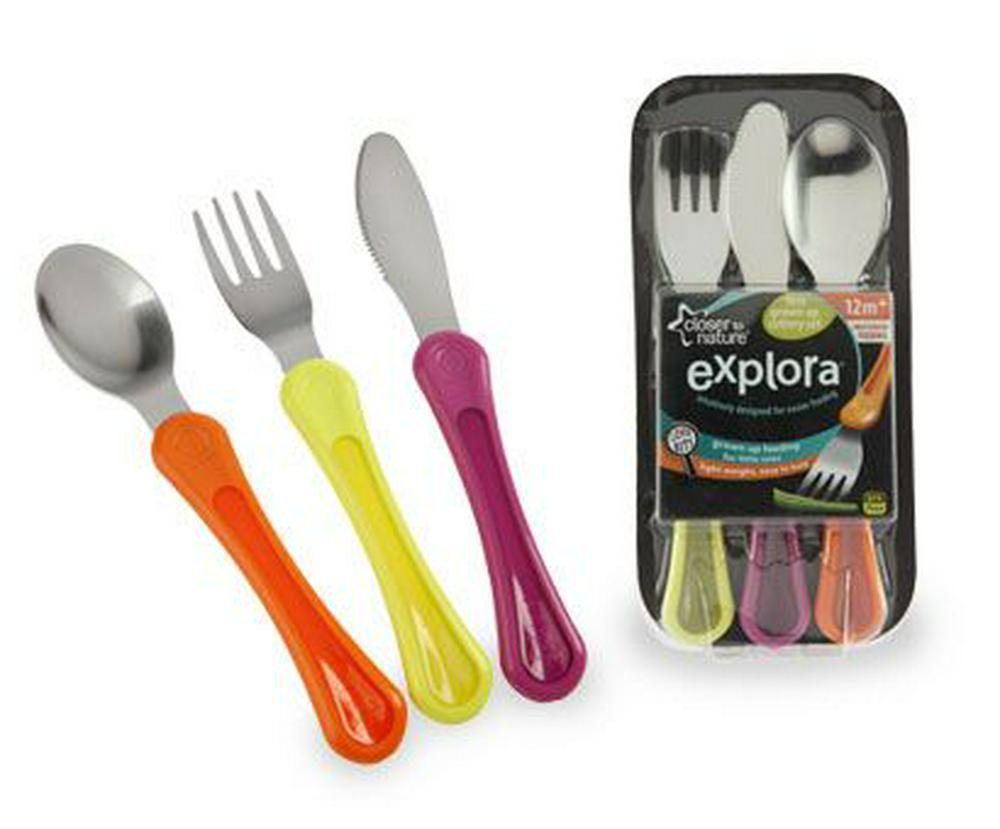Tommee Tippee Closer To Nature Explora First Cutlery Set Default Title