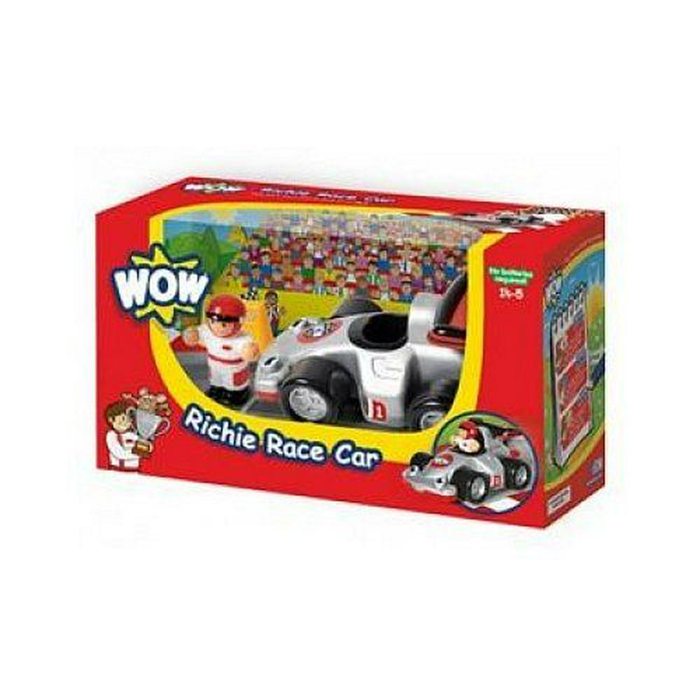 WowToyz WOW Toys Richie Race Car Playset Default Title