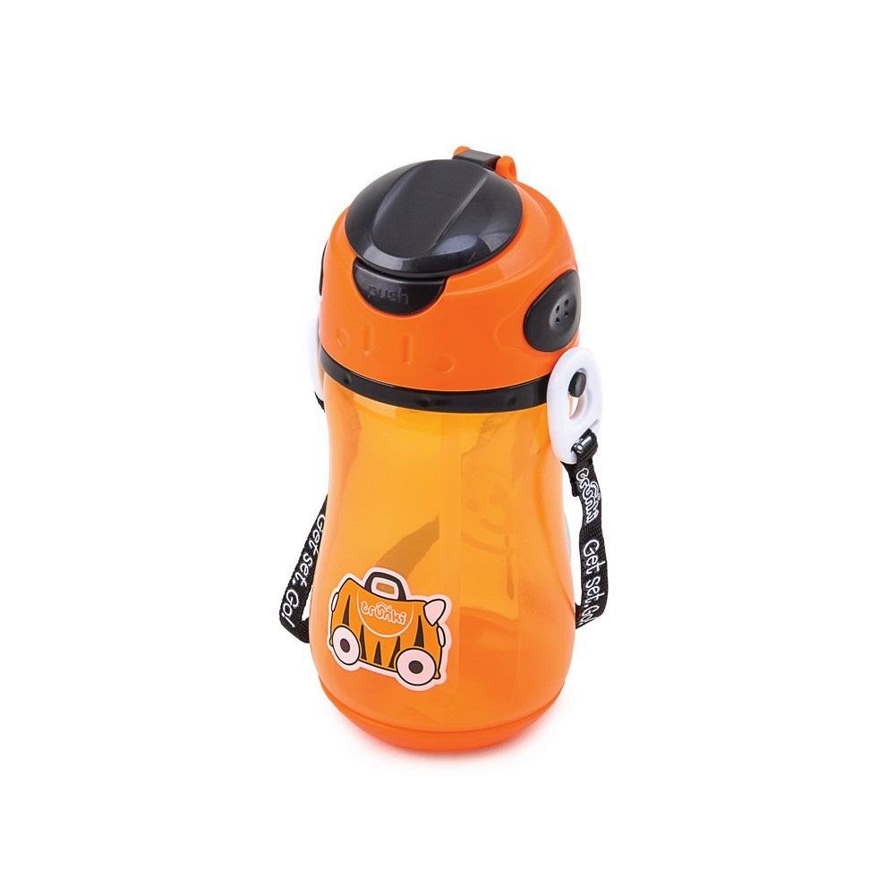 Trunki Kids Drink Bottle 400mL Orange
