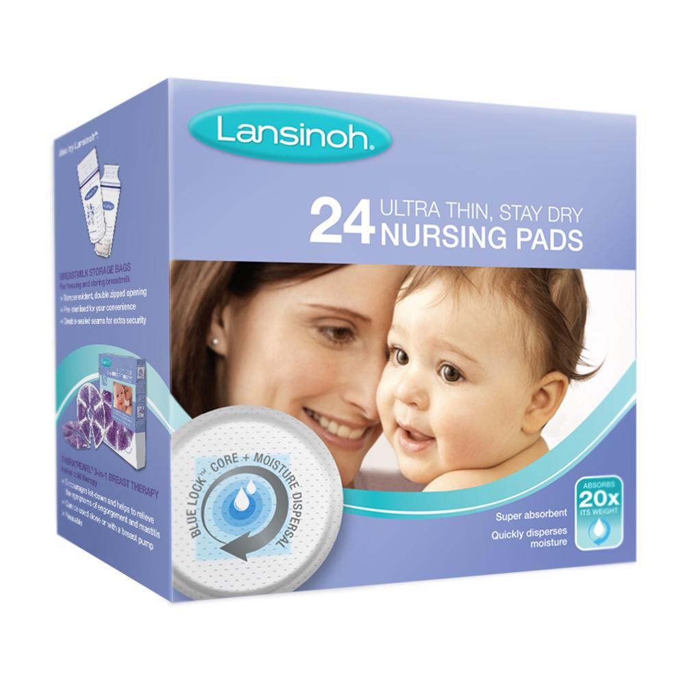 Lansinoh Disposable Breastfeeding Nursing Breast Pads - 24 Pack 24 pack