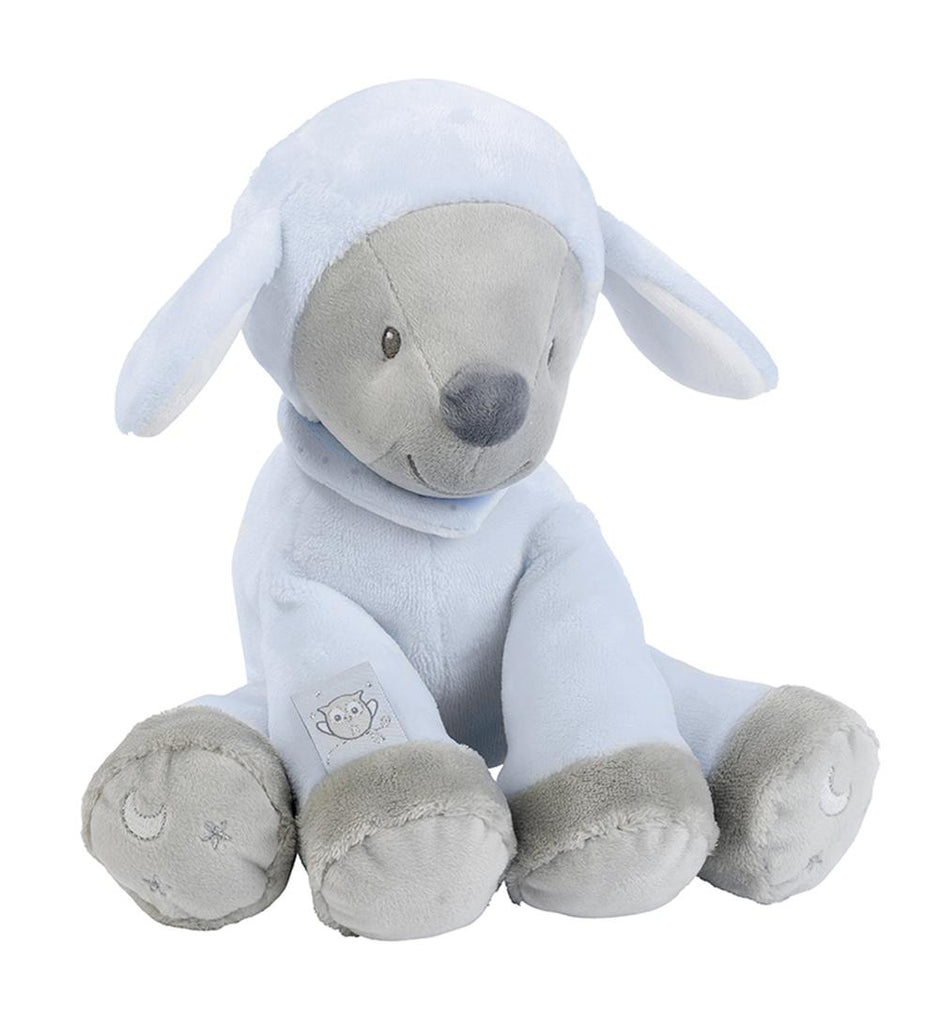 Nattou Sam & Toby Collection - Cuddly Plush Toy 28cm Sam The Sheep