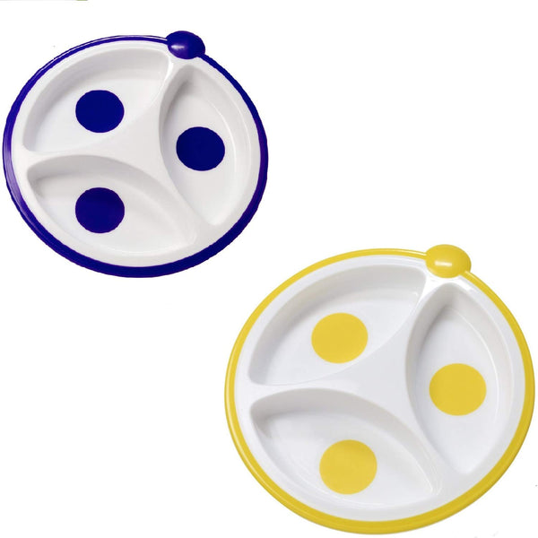 Designed to Nourish Divided Plates - 2 Pack