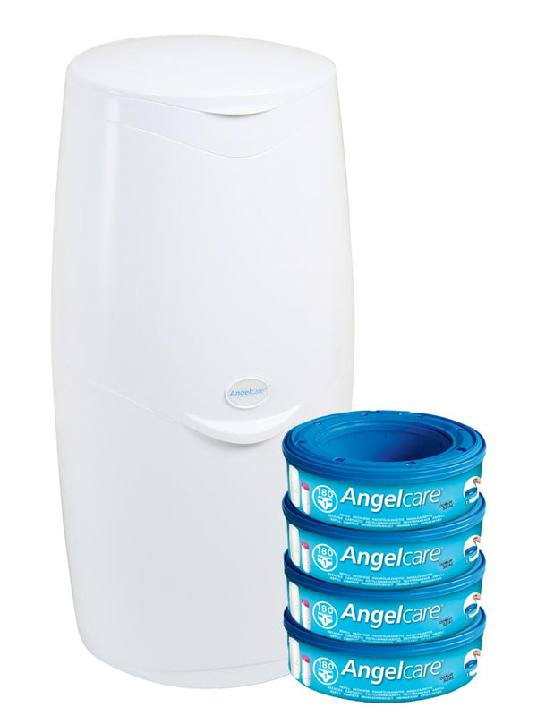 Angelcare Nappy Disposal System Starter Kit Default Title