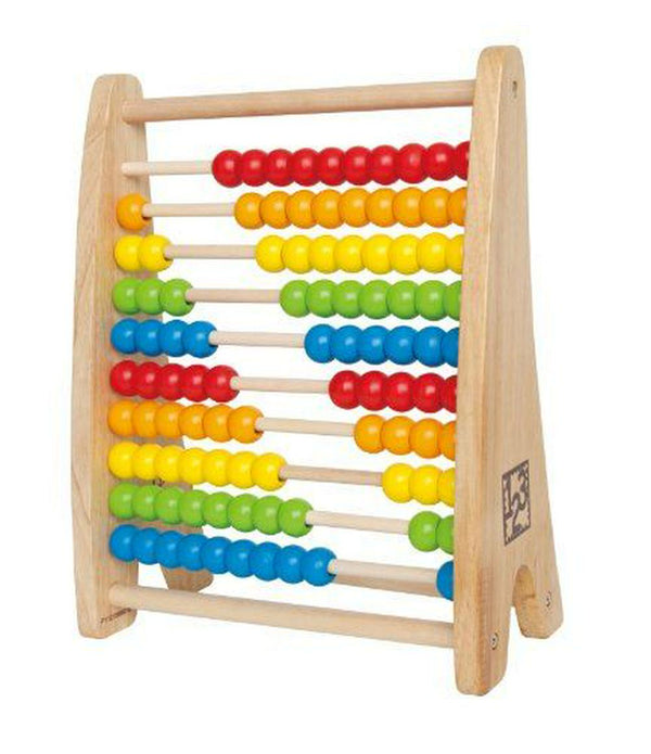 Hape Rainbow Bead Abacus Wooden Toy Default Title