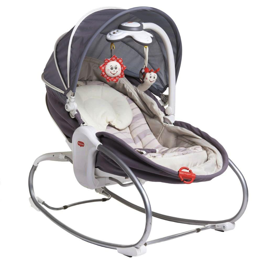 Tiny Love Rocker Napper Grey/Denim 75 x 19 x 44 cm