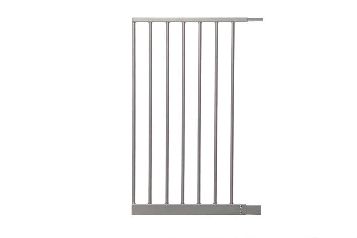 Dreambaby Empire Magnetic Sure-Close Safety Gate Extension - 42cm - Silver 42cm Silver