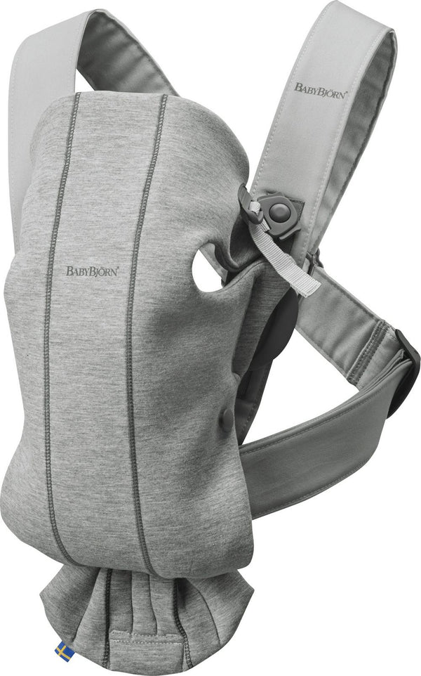 BabyBjorn Baby Carrier Mini - Light Grey 3D Jersey Light Grey 3D Jersey