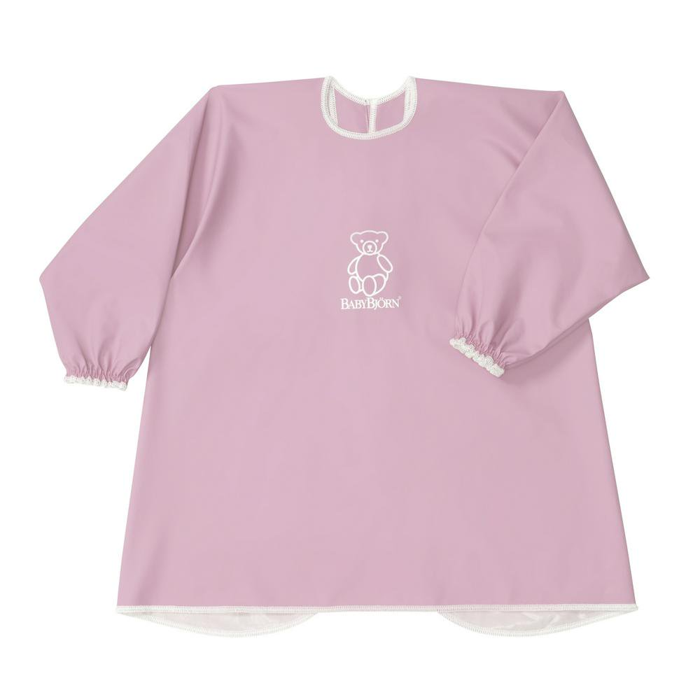 BabyBjorn Long Sleeve Bib Pink