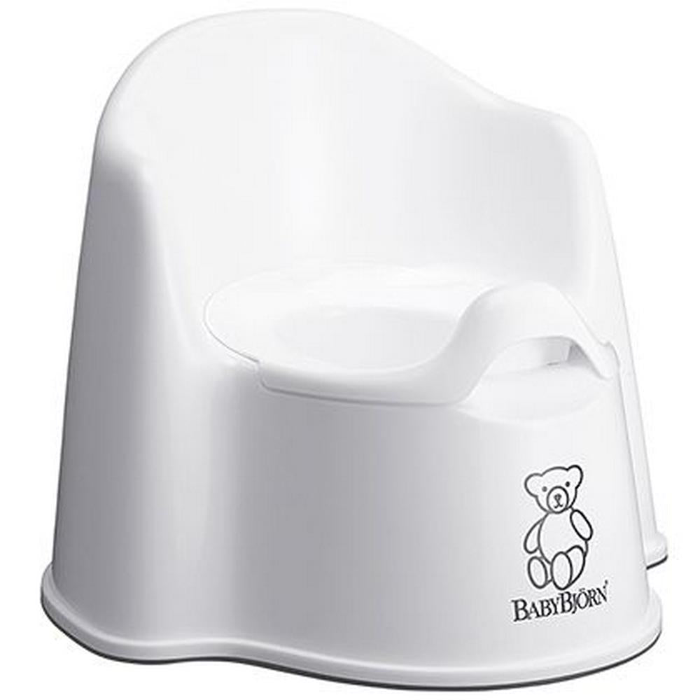 BabyBjorn Potty Chair - White White