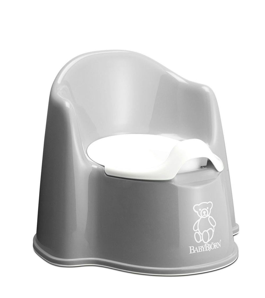 BabyBjorn Potty Chair - Grey Grey