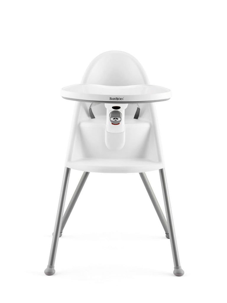 BabyBjorn High Chair 83cm White/Grey