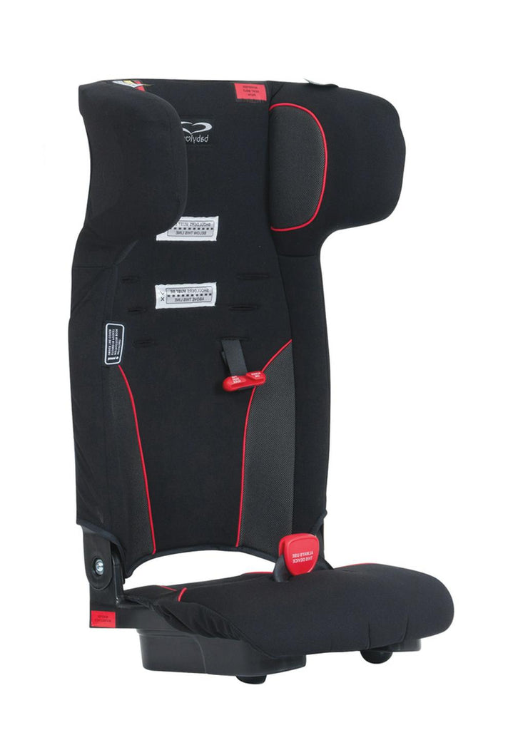 BabyLove Ezy Move Booster Seat Max Black