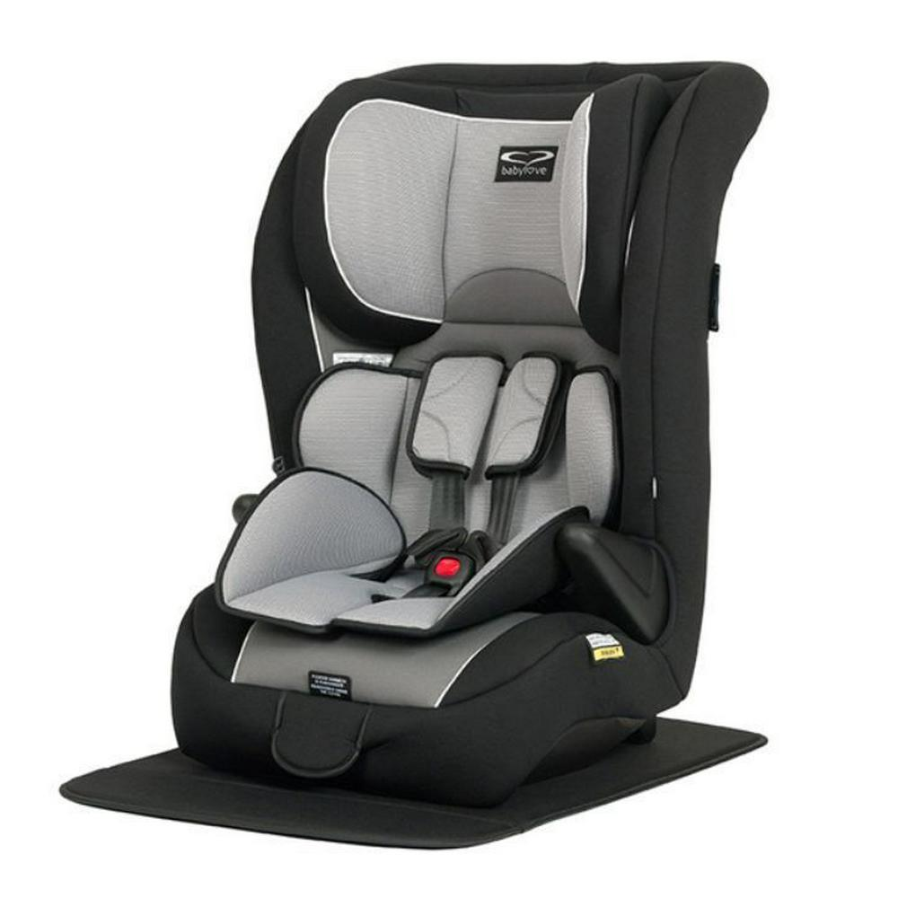 BabyLove Ezy Grow EP Harnessed Baby Car Seat Silver