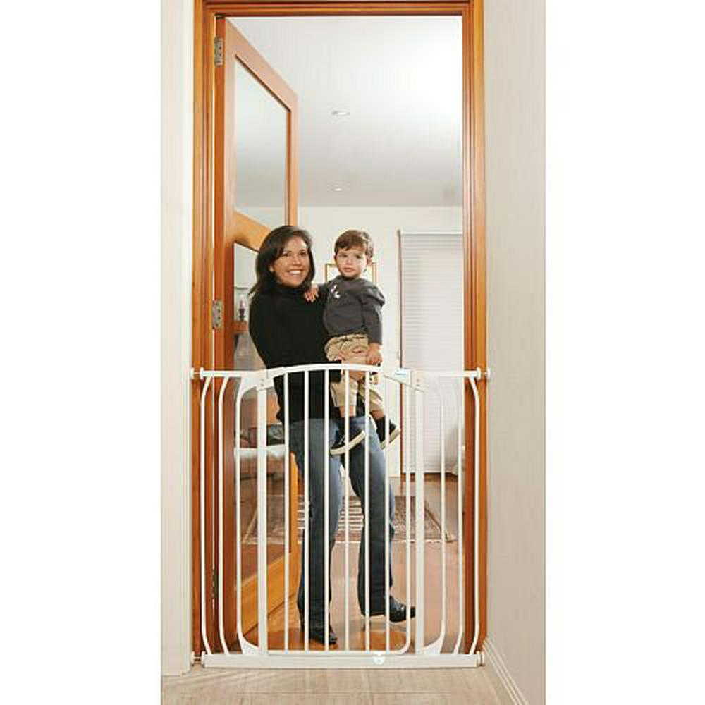 "Dreambaby Extra Tall Swing Closed Hallway Security Gate 38.1 to 42.5"" White"