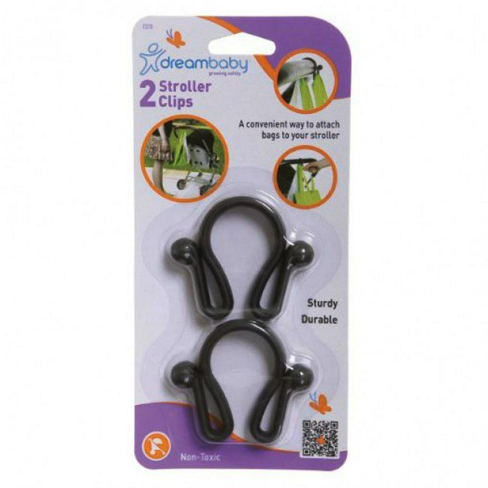Dreambaby Stroller Clip - 2 Pieces Default Title