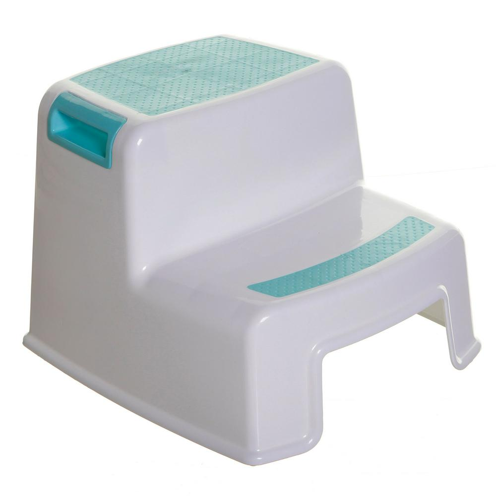 Dreambaby 2-Up Step Stool - Aqua Aqua