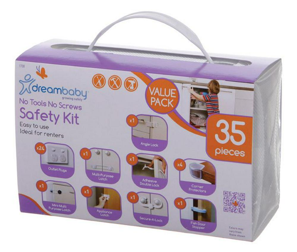 Dreambaby 35 Piece Safety Kit Default Title
