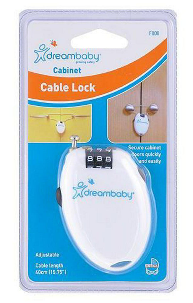 Dreambaby Combination Cabinet Cable Lock Default Title