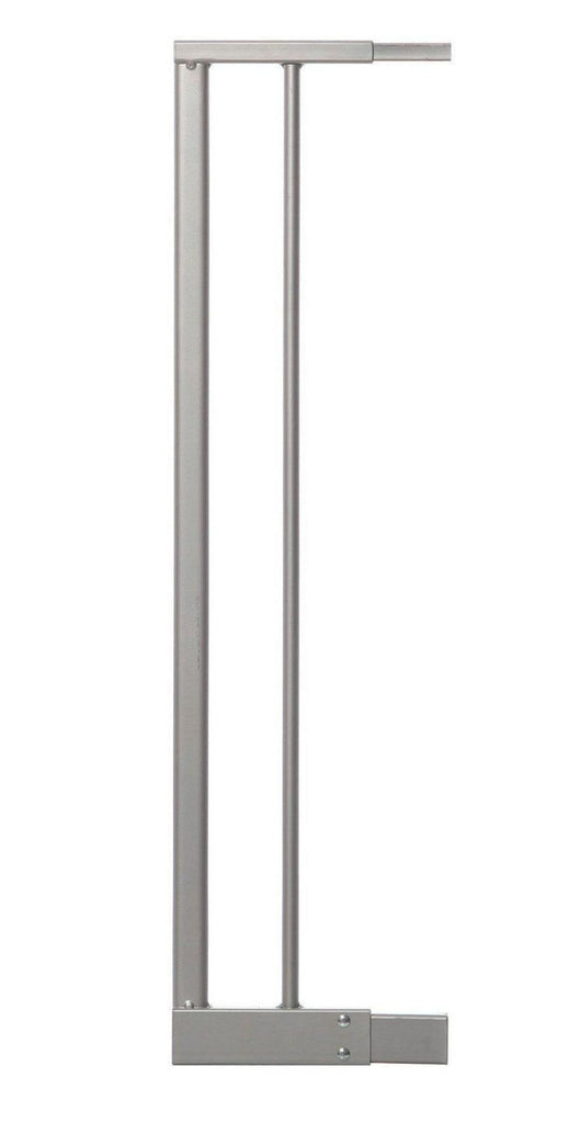 Dreambaby Empire Magnetic Sure-Close Safety Gate Extension - 14cm 14 cm Silver