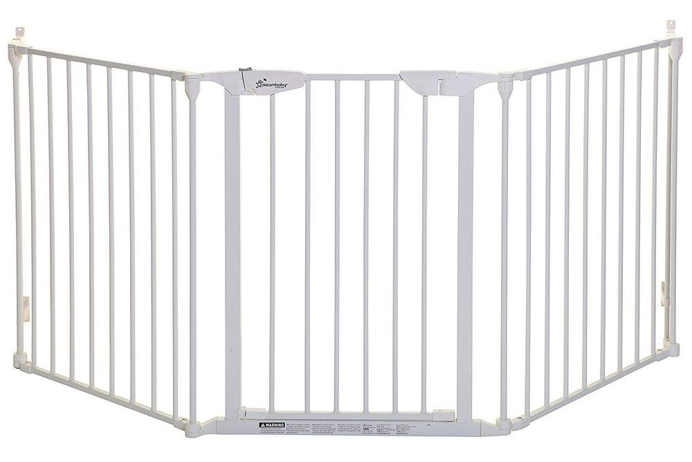 Dreambaby Newport Adapta-Gate 33.5- 79 x 29 Inches White