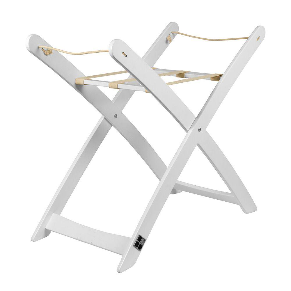 Bebe Care Moses Basket Stand - White White