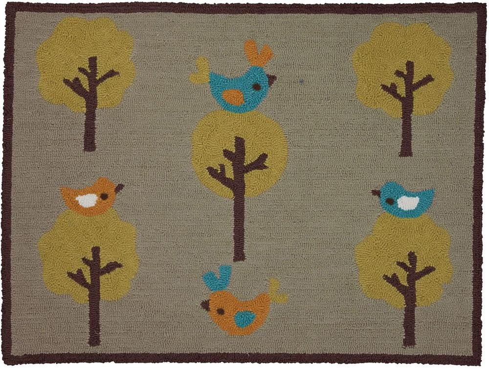 Living Textiles Animal Tree Collection Rug 76 x 100cm