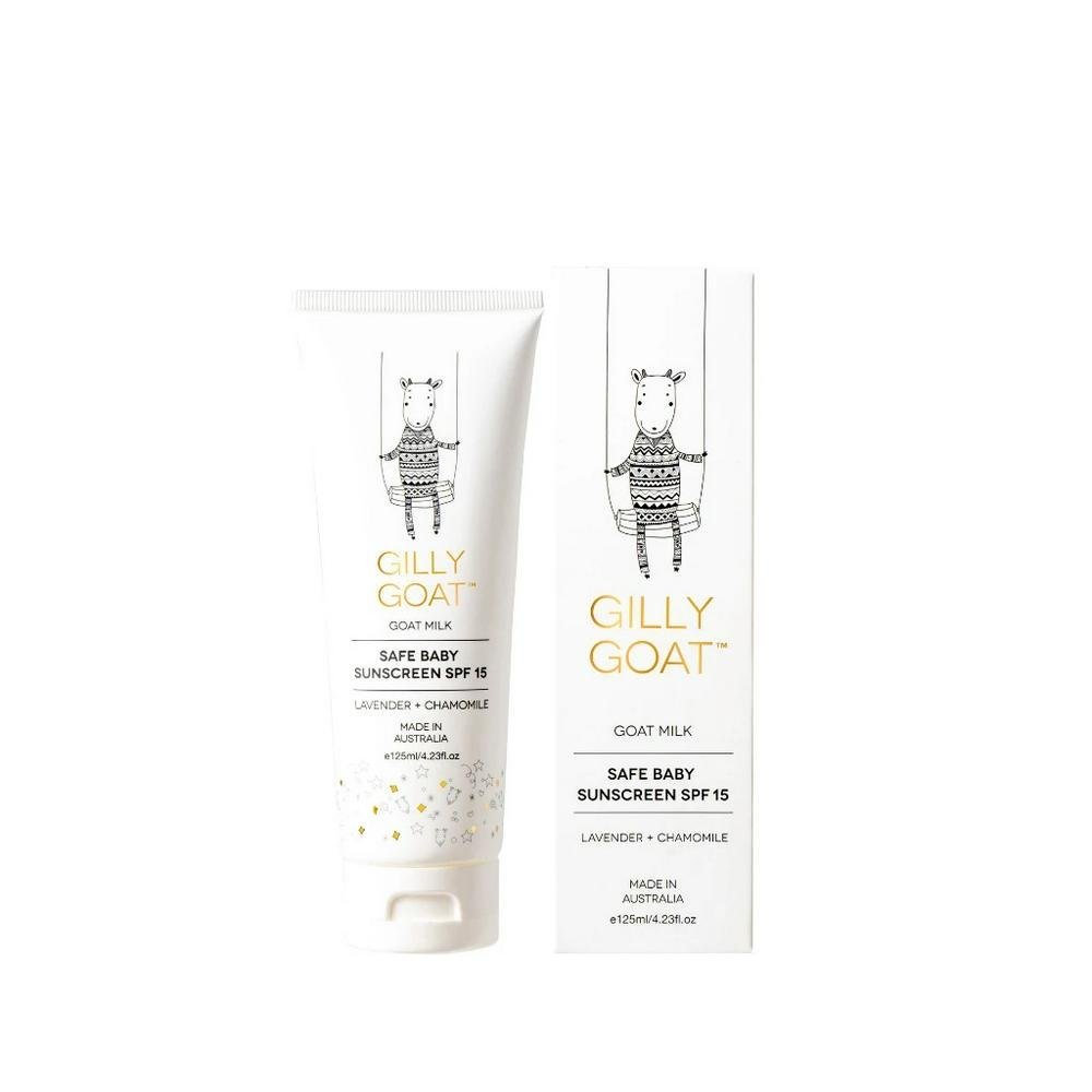 Gilly Goat Safe Baby Sunscreen SPF 15 - 125mL 125mL