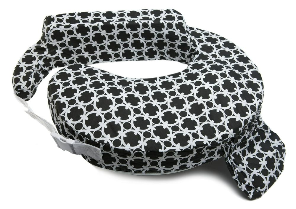 My Brest Friend Feeding and Nursing Pillow Black White Marina