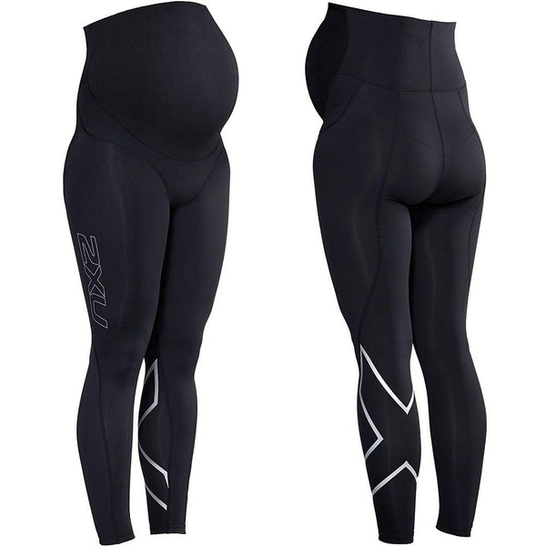 2XU Prenatal Active Tights - Small Small Black/Silver