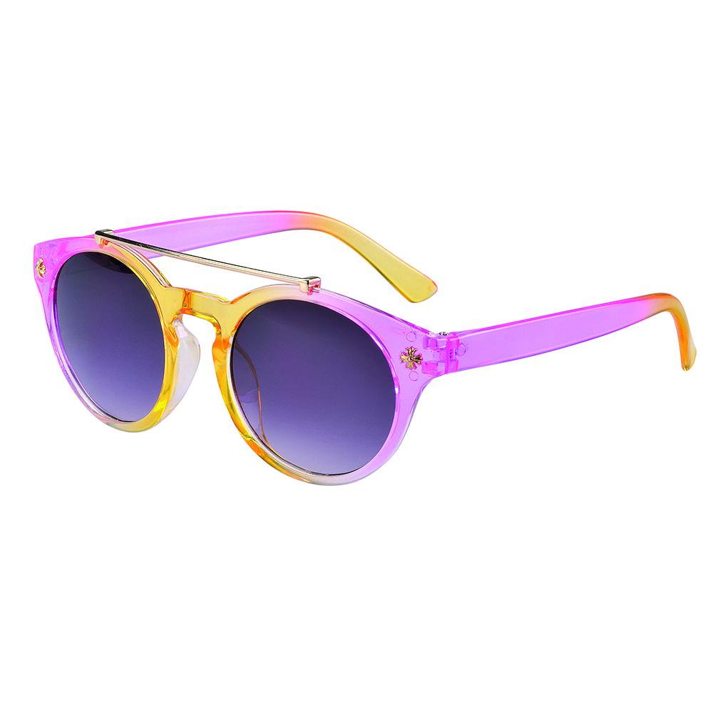 Eyetribe Frankie Ray Sunglasses 1-3 Years Ava Pink Yellow Ombre