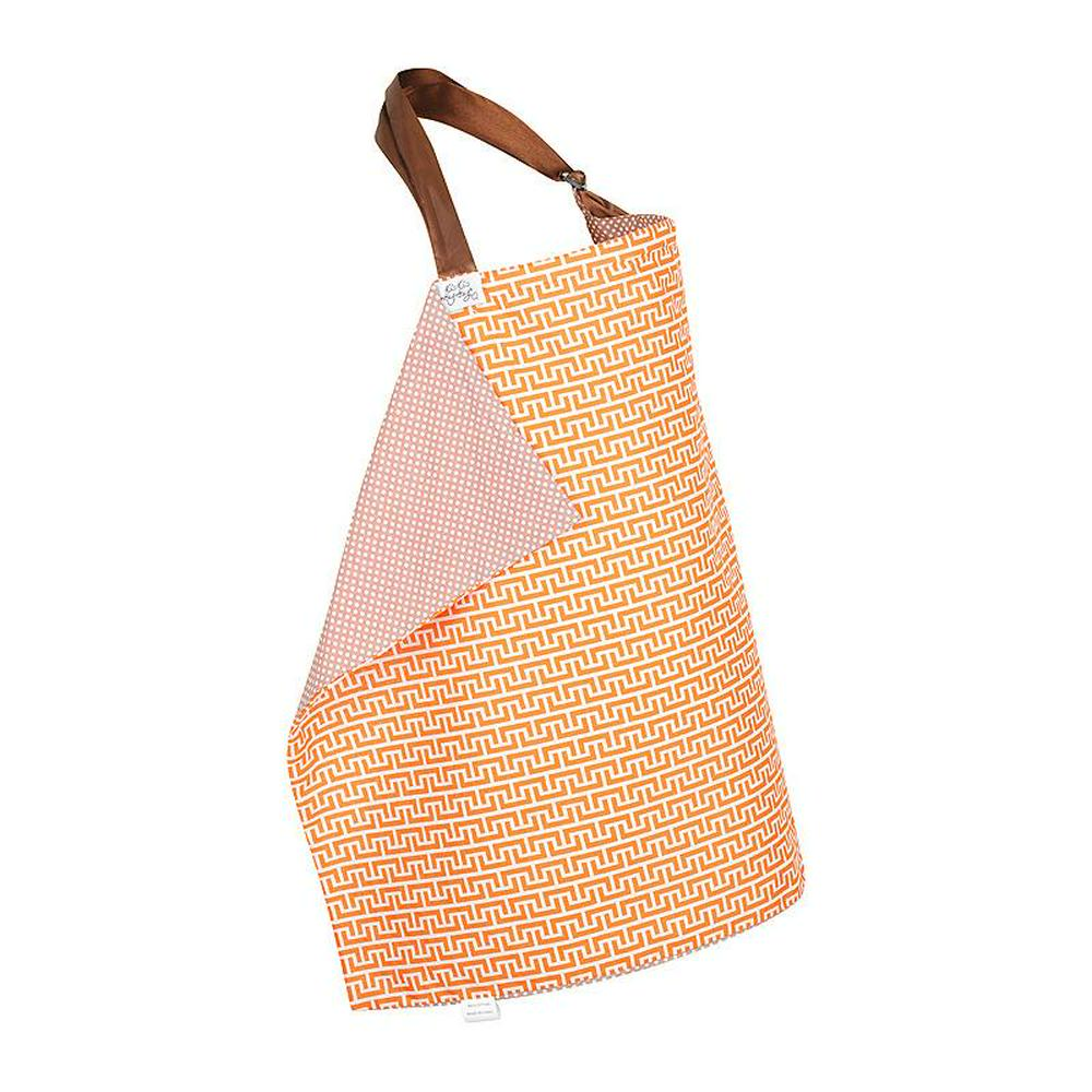 KissKiss HugHug Breast Feeding Cover Geo Rust