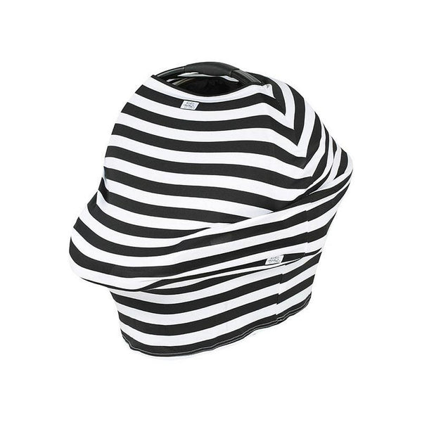 KissKiss HugHug Cover Me Multipurpose Cover Breast Feeding (Black Stripe) Black Stripe