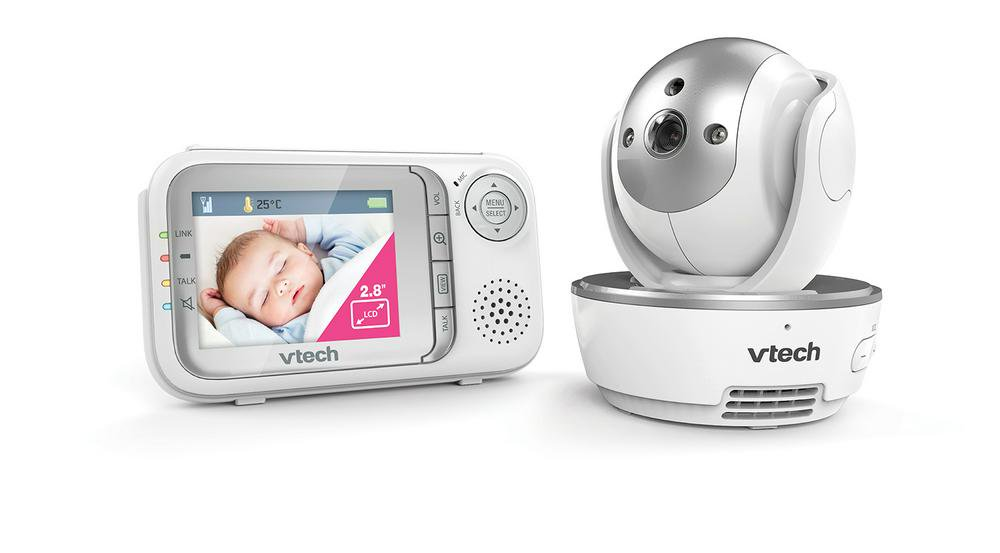 VTech BM3500 Safe & Sound Full Colour Pan & Tilt Video and Audio Baby Monitor Default Title