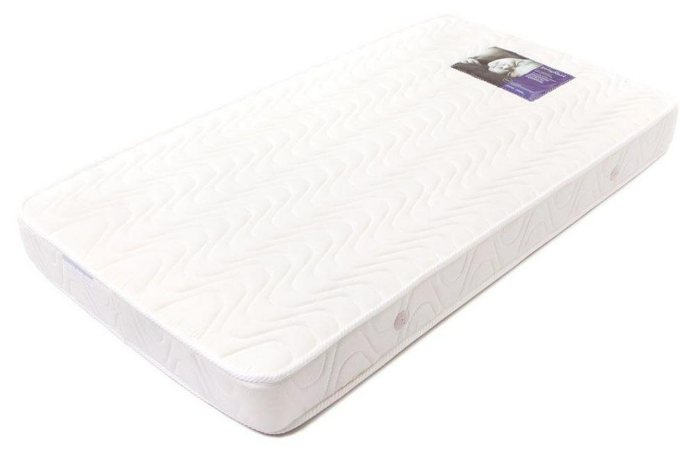 BabyRest Deluxe Innerspring Cot Mattress Double Quilted - 1320 x 700 x 125mm 1320 x 700 x 125mm