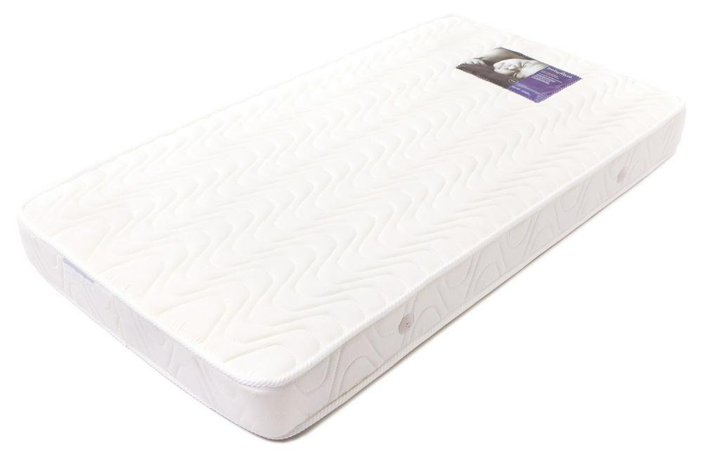 BabyRest Deluxe Innerspring Double Quilted Cot Mattress - 1300 x 690 x 125mm 1300 x 690 x 125mm
