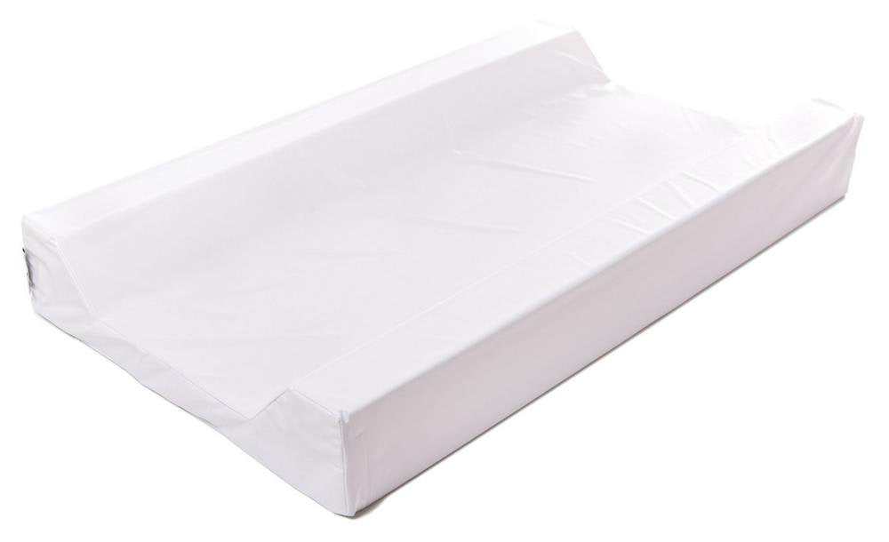 BabyRest Deluxe Change Mattress Waterproof Cover King Parrot/Boori Urbane Tray (White) - 800 x 400 x 75mm 800 x 400 x 75mm White