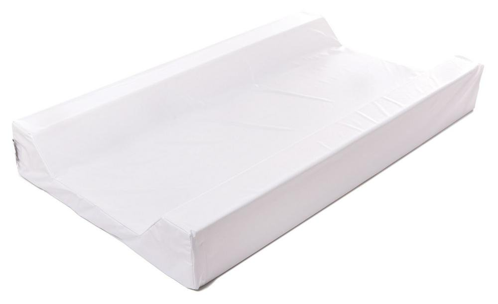 BabyRest Deluxe Change Mattress Waterproof Cover King Parrot/Boori Urbane Tray (White) - 755 x 400 x 90mm 755 x 400 x 90mm White